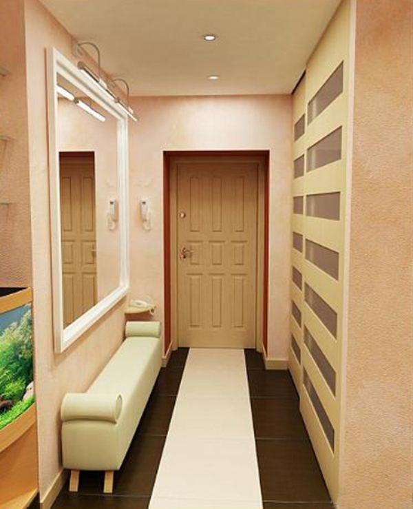 Ремонт маленького коридора в хрущевке фото своими руками 4